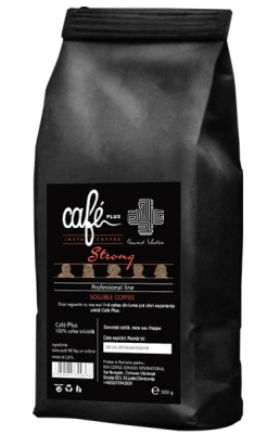 Cafea instant CAFE PLUS STRONG PROFESSIONAL LINE SPRAY DRY
