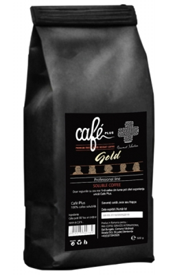 Cafea instant CAFE PLUS GOLD PROFESSIONAL LINE FREEZE DRY